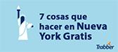 7 planes gratis para </br> descubrir Nueva York